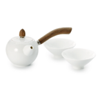 Tea set for two White Swan
